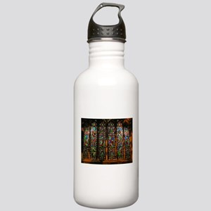 Stained Glass Window Christ Stainless Water Bottle