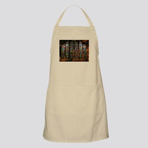 Stained Glass Window Christ Apron