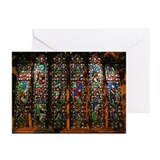 Stained glass Greeting Cards (20 Pack)