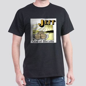 Jeff, God of Biscuits Ash Grey T-Shirt