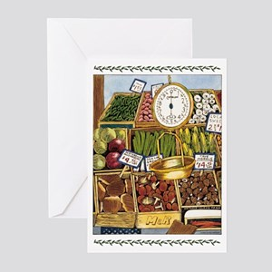 Market Greeting Cards (Pk of 10)