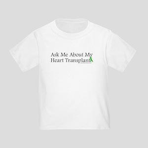 Ask Me Heart Toddler T-Shirt