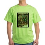 Robert Stanek's Magic Lands Green T-Shirt