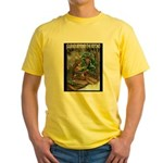 Robert Stanek's Magic Lands Yellow T-Shirt