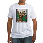 Magic Lands Design #2 Fitted T-Shirt