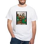 Magic Lands Design #2 White T-Shirt