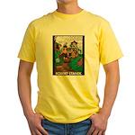 Magic Lands Design #2 Yellow T-Shirt