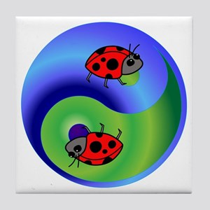 Ladybug Tile Coaster