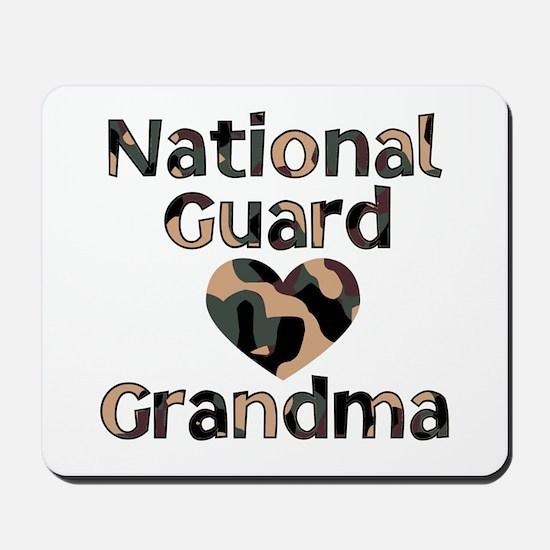 NG Grandma Heart Camo Mousepad