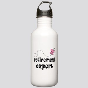 Funny Retirement Expert Stainless Water Bottle 1.0
