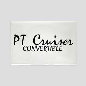 PT Cruiser Convertible Rectangle Magnet