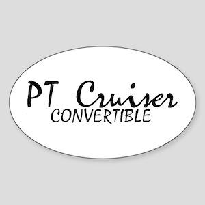 PT Cruiser Convertible Oval Sticker