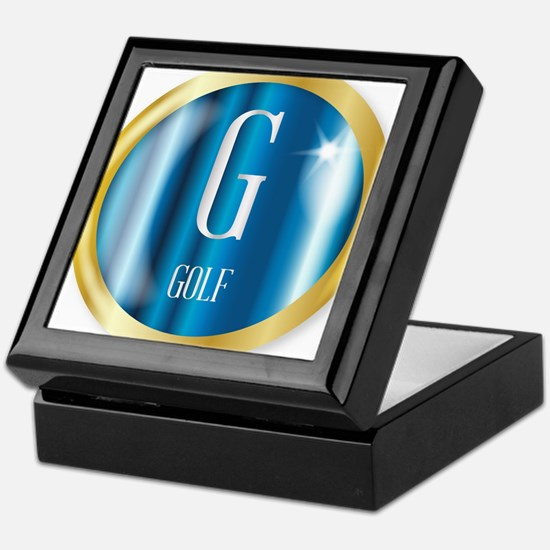 G For Golf Keepsake Box
