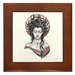 Lady Madonna Framed Tile