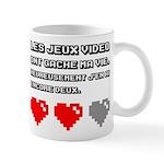 Les jeux video ont gache ma vie Mugs