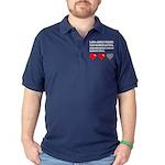 Les jeux video ont gache ma vie Dark Polo Shirt