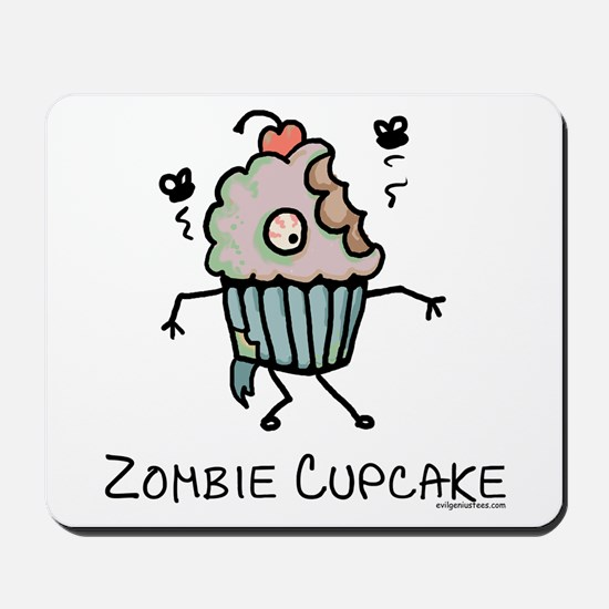 Zombie cupcake Mousepad