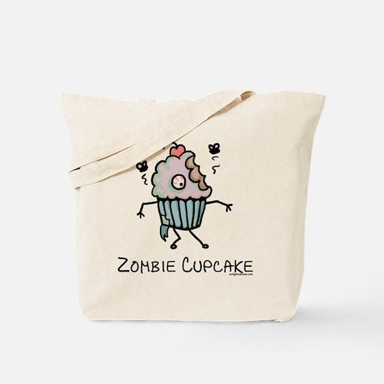 Zombie cupcake Tote Bag