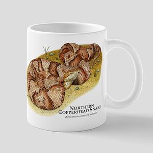 Northern Copperhead Snake Mug