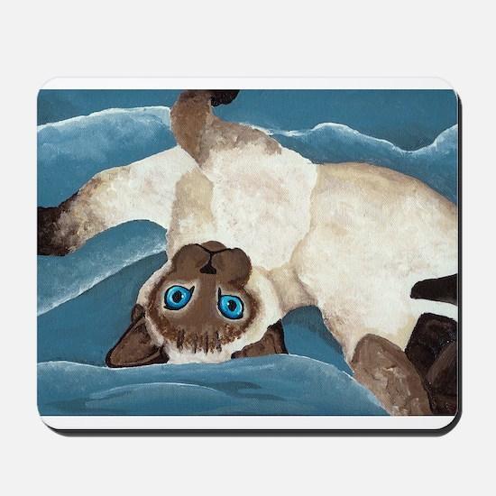Siamese Kitten Mousepad