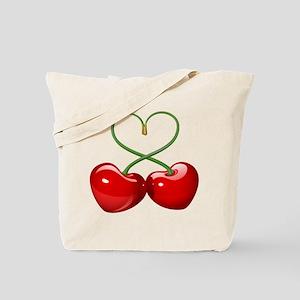 Cherry Love Tote Bag