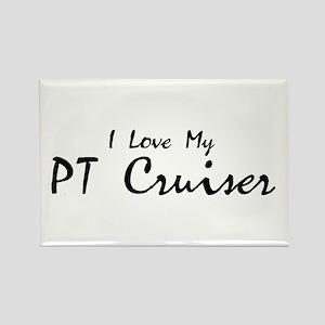 I love my PT Cruiser Rectangle Magnet