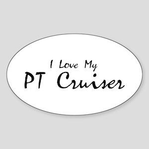 I love my PT Cruiser Oval Sticker