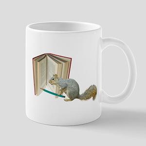 Squirrel Pencil Book Mug