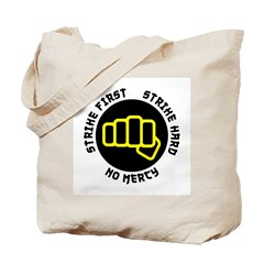 No Mercy Tote Bag