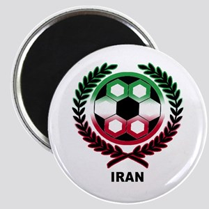 Iran World Cup Soccer Wreath Magnet