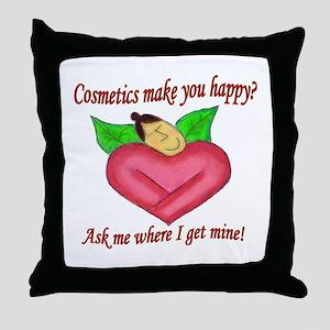 Cos Heart Throw Pillow