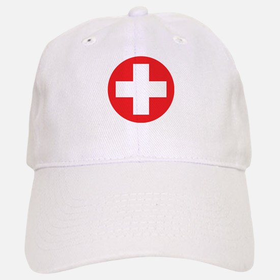 Original Red Cross Baseball Baseball Cap