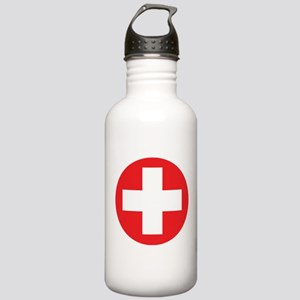 Original Red Cross Stainless Water Bottle 1.0L