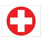 Original Red Cross Small Poster