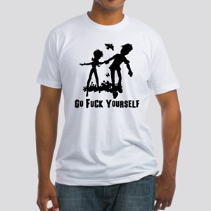 Go F*ck Yourself Fitted T-Shirt