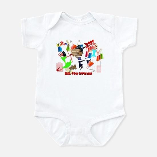 Black Friday Preparation Infant Bodysuit