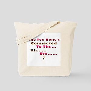 Toe Bone Tote Bag