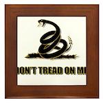 Dont tread on me Framed Tile