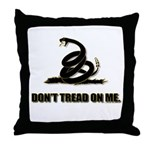 Dont tread on me Throw Pillow