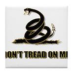 Dont tread on me Tile Coaster