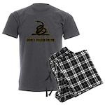 Dont tread on me Men's Charcoal Pajamas