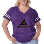 Dont tread on me Women's Plus Size Football T-Shir