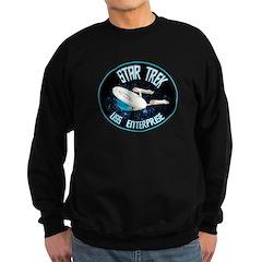 Star Trek USS Enterprise Sweatshirt (dark)