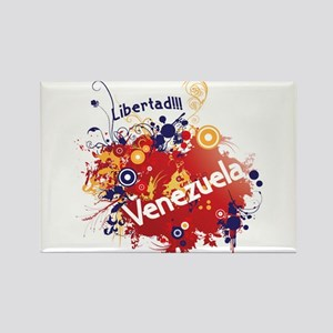 Venezuela Rectangle Magnet