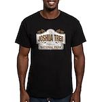 Joshua Tree National P Men's Fitted T-Shirt (dark)