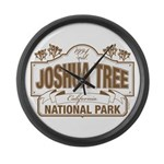 Joshua Tree National Park Large Wall Clock