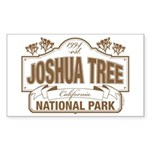 Joshua Tree National Park Sticker (Rectangle)