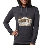 Joshua Tree National Park Womens Hooded Shirt