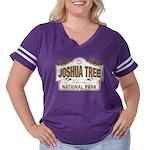 Joshua Tree Nat Women's Plus Size Football T-Shirt