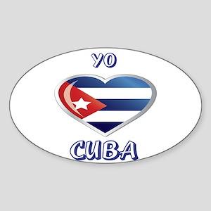 CUBA Sticker (Oval)